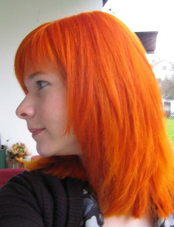 Color To Hair Directions Coral Red Nosferatu Uk