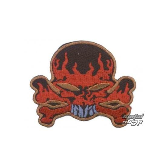 iron-on patch Skull 5