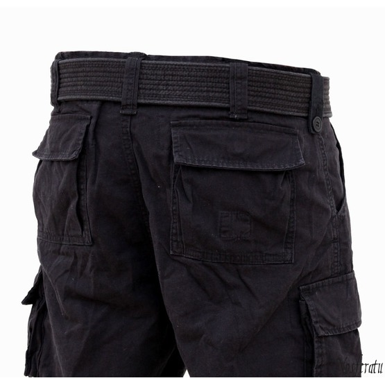 shorts SURPLUS - DIVISION SHORT - BLACK