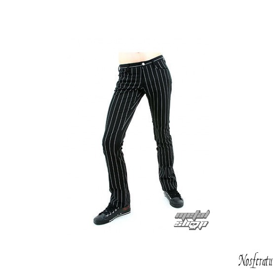pants women Mode Wichtig - New Hipster Pin Stripe