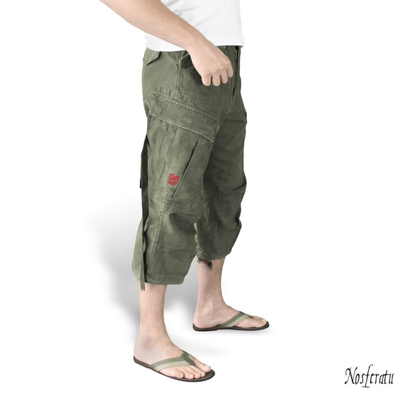 shorts 3/4 men SURPLUS - Vintage - Olive