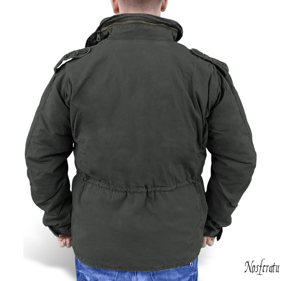 jacket men SURPLUS - Regiment M65 - BLACK