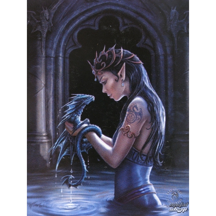 flag Anne Stokes - Water Dragon