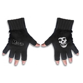 gloves fingerless Misfits - Misfits Logo and Fiend - RAZAMATAZ