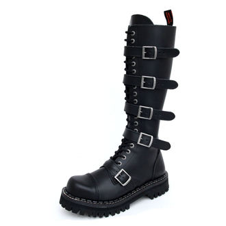 leather boots - KMM - Black-205