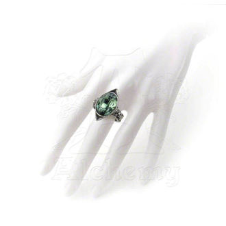 ring ALCHEMY GOTHIC - Absinthe Fairy Spirit Crystal - R120
