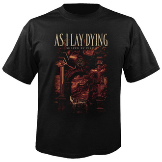 t-shirt metal men's As I Lay Dying - Shaped by fire - NUCLEAR BLAST - 28844_TS