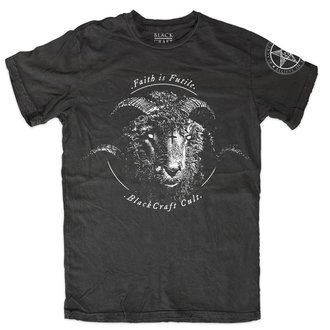 t-shirt men's - Faith Is Futile - BLACK CRAFT - MT156FE