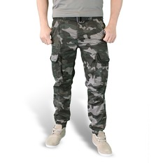 men's pants SURPLUS - PREMIUM SLIMMY - BLACK CAMO, SURPLUS