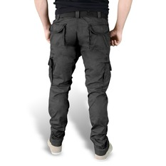 men's pants SURPLUS - PREMIUM SLIMMY - Black GE, SURPLUS