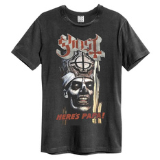 t-shirt metal men's Ghost - HERE`S PAPA - AMPLIFIED, AMPLIFIED, Ghost