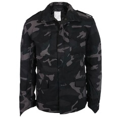winter men´s jacket SURPLUS - M 65 - Black Camo, SURPLUS