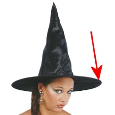 Witch Hat BLACK WITCH - DAMAGED, NNM