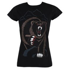 t-shirt hardcore women's - BEAR NECESSITIES - GRIMM DESIGNS, GRIMM DESIGNS