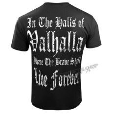 t-shirt men's - I AM A WARRIOR - VICTORY OR VALHALLA, VICTORY OR VALHALLA