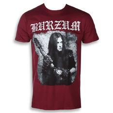 t-shirt metal men's Burzum - ANTHOLOGY 2018 (MAROON) - PLASTIC HEAD, PLASTIC HEAD, Burzum