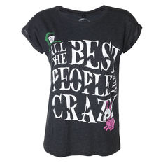 t-shirt hardcore women's - ALL BEST PEOPLE CRAZY - GRIMM DESIGNS, GRIMM DESIGNS