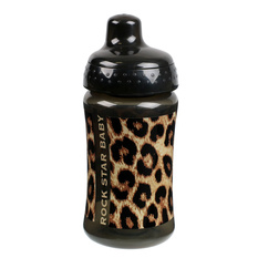 Children's bottle ROCK STAR BABY - LEOPARD, ROCK STAR BABY