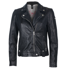 Women's biker jacket GG Favorit - Black, NNM