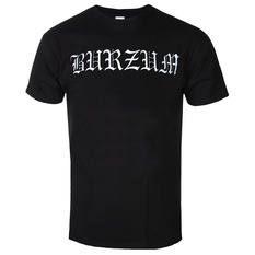t-shirt metal men's Burzum - WHITE LOGO - PLASTIC HEAD, PLASTIC HEAD, Burzum