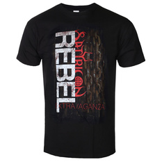 Metal T-Shirt men's Satyricon - Rebel Extravaganza - NAPALM RECORDS, NAPALM RECORDS, Satyricon