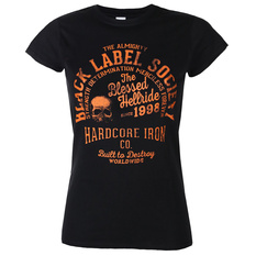 Women's t-shirt BLACK LABEL SOCIETY - HARDCORE HELLRIDE - PLASTC HEAD, PLASTIC HEAD, Black Label Society