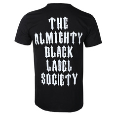 Men's t-shirt BLACK LABEL SOCIETY - THE ALMIGHTY (BLACK) - PLASTIC HEAD, PLASTIC HEAD, Black Label Society