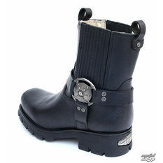 boots NEW ROCK - 7605-S1 - Itali Negro - DAMAGED- BH108