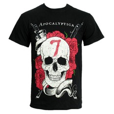 t-shirt men Apocalyptica 'Skull' CID, LIVE NATION, Apocalyptica