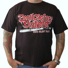 t-shirt metal men's Death Before Dishonor - baseball bat - RAGEWEAR, RAGEWEAR, Death Before Dishonor