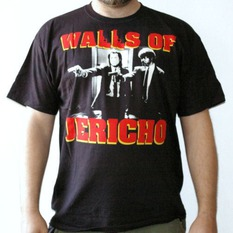 t-shirt metal men's Walls of Jericho - Wolf - RAGEWEAR, RAGEWEAR, Walls of Jericho