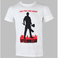 t-shirt metal men's Shaun Of The Dead - Silhouette - LIVE NATION, LIVE NATION, Shaun Of The Dead