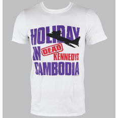 t-shirt metal men's Dead Kennedys - Cambodia - LIVE NATION, LIVE NATION, Dead Kennedys