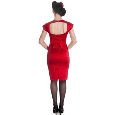 dress women HELL BUNNY - Angie - Red, HELL BUNNY