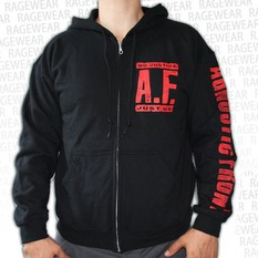 hoodie men's Agnostic Front - No Justice, Just Us - RAGEWEAR, RAGEWEAR, Agnostic Front