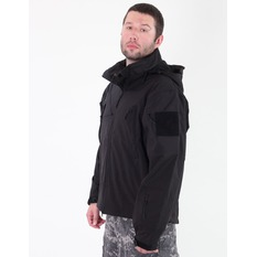 jacket men spring/fall (softshell) ROTHCO - SPECIAL OPS - Black, ROTHCO