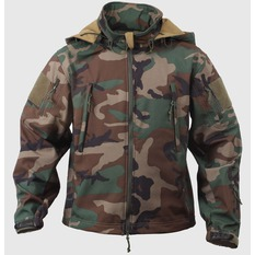 jacket men spring/fall (softshell) ROTHCO - SPECIAL OPS - WOODLAND, ROTHCO