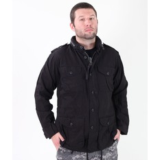 jacket men spring/fall ROTHCO - LIGHTWEIGHT VINTAGE M-65 - BLACK, ROTHCO