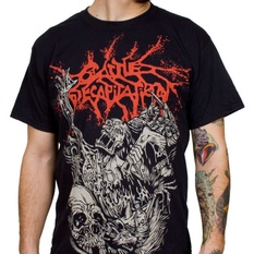 t-shirt metal men's Cattle Decapitation - Alone At The Landfill - INDIEMERCH, INDIEMERCH, Cattle Decapitation