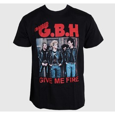 t-shirt metal men's G.B.H. - Give Me Fire - CARTON, CARTON, G.B.H.