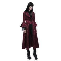 Women's coat PUNK RAVE - Ruby Gothic, PUNK RAVE