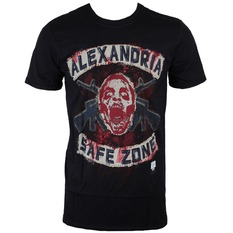 film t-shirt men's The Walking Dead - Safe Zone - INDIEGO, The Walking Dead
