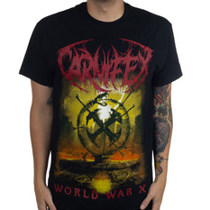 Men's t-shirt Carnifex - World War X - Black - INDIEMERCH, INDIEMERCH, Carnifex