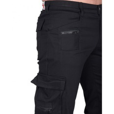 pants men BLACK PISTOL - Combat Pants Denim - (Black), BLACK PISTOL