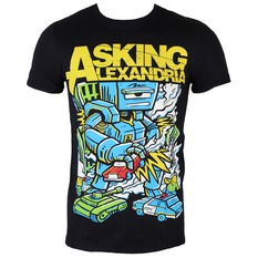t-shirt metal men's Asking Alexandria - Killer Robot - ROCK OFF, ROCK OFF, Asking Alexandria