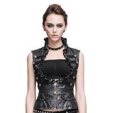 vest women's Devil Fashion - Gothic Aurora, DEVIL FASHION