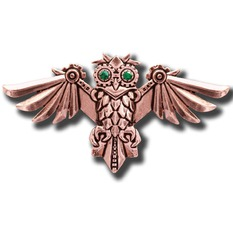 brooch EASTGATE RESOURCE - Aviamore Owl, EASTGATE RESOURCE
