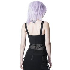 Women's tank top KILLSTAR - Atara Strap - BLACK, KILLSTAR