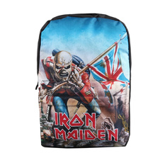 Backpack IRON MAIDEN - TROOPER - RED, NNM, Iron Maiden