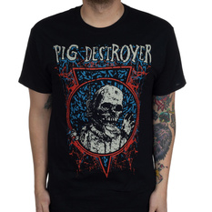 Men's t-shirt Pig Destroyer - Myiasis - Black - INDIEMERCH, INDIEMERCH, Pig Destroyer